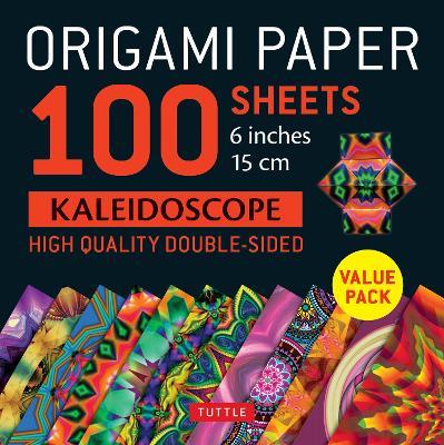 "Origami Paper 100 sheets Kaleidoscope 6"" (15 cm)"