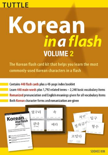 Korean in a Flash Kit Volume 2 - Tuttle Flash Cards