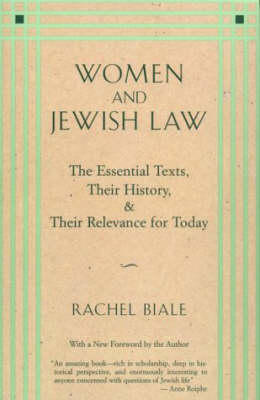 Women and Jewish Law (Paperback)