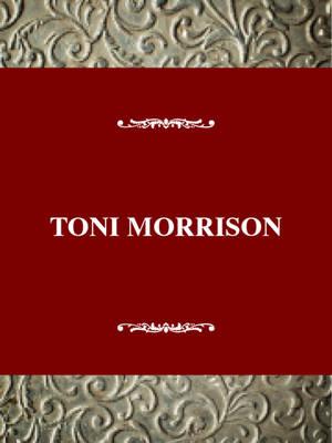 Toni Morrison - Twaynes united states author series no 559 (Hardback)