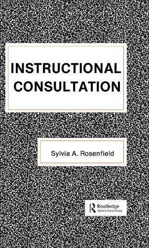 Instructional Consultation - School Psychology Series (Hardback)