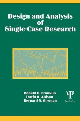 Design and Analysis of Single-Case Research (Paperback)