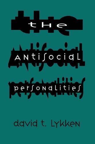 The Antisocial Personalities (Hardback)