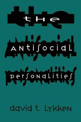 The Antisocial Personalities (Paperback)