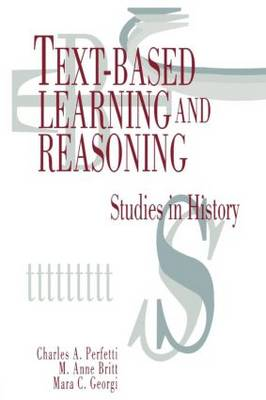 Text-based Learning and Reasoning: Studies in History (Paperback)