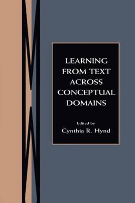 Learning From Text Across Conceptual Domains (Paperback)