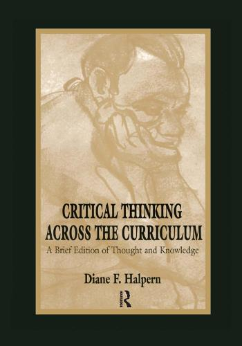 Critical Thinking Across the Curriculum: A Brief Edition of Thought & Knowledge (Hardback)