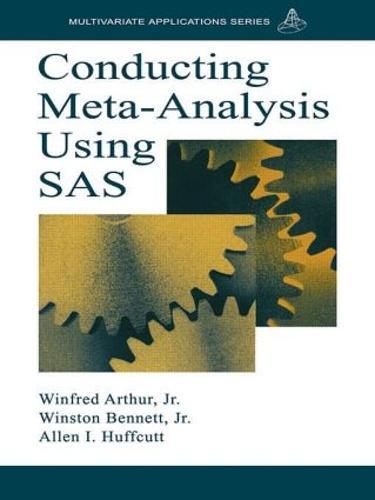 Conducting Meta-Analysis Using SAS - Multivariate Applications Series (Paperback)