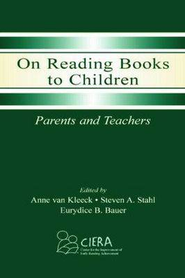 On Reading Books to Children: Parents and Teachers (Paperback)