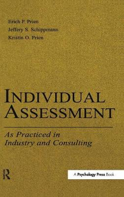 Individual Assessment: As Practiced in Industry and Consulting - Applied Psychology Series (Hardback)
