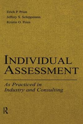 Individual Assessment: As Practiced in Industry and Consulting - Applied Psychology Series (Paperback)
