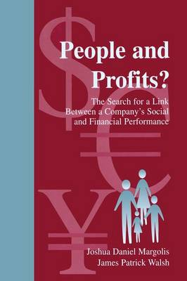 People and Profits?: The Search for A Link Between A Company's Social and Financial Performance - Organization and Management Series (Paperback)