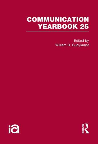 Communication Yearbook: No. 25 (Hardback)
