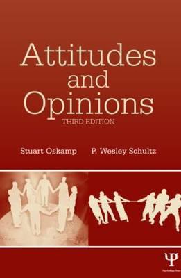 Attitudes and Opinions (Hardback)