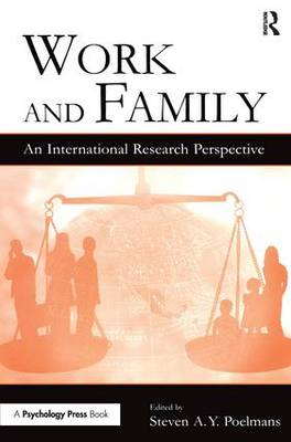Work and Family: An International Research Perspective - Applied Psychology Series (Paperback)