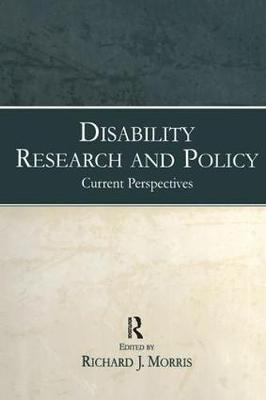Disability Research and Policy: Current Perspectives (Hardback)