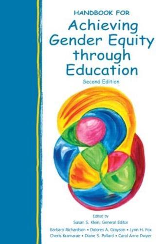 Handbook for Achieving Gender Equity Through Education (Hardback)