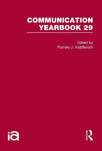 Communication Yearbook 29 (Hardback)