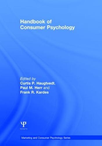 Handbook of Consumer Psychology - Marketing and Consumer Psychology Series (Hardback)
