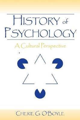 History of Psychology: A Cultural Perspective (Paperback)