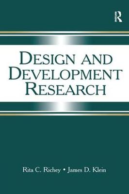 Design and Development Research: Methods, Strategies, and Issues (Hardback)