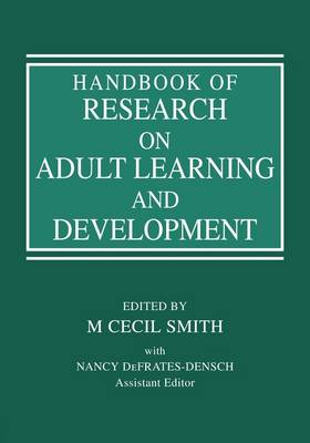 Handbook of Research on Adult Learning and Development (Paperback)