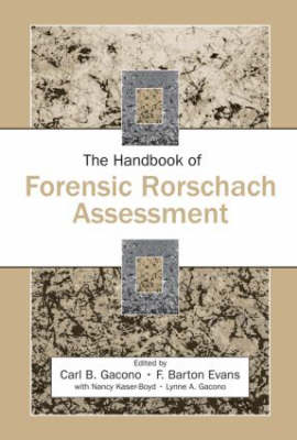 The Handbook of Forensic Rorschach Assessment - Personality and Clinical Psychology (Hardback)