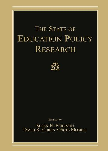 The State of Education Policy Research (Hardback)