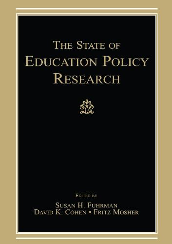 The State of Education Policy Research (Paperback)