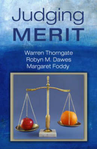 Judging Merit (Hardback)