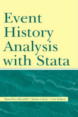 Event History Analysis with Stata (Hardback)