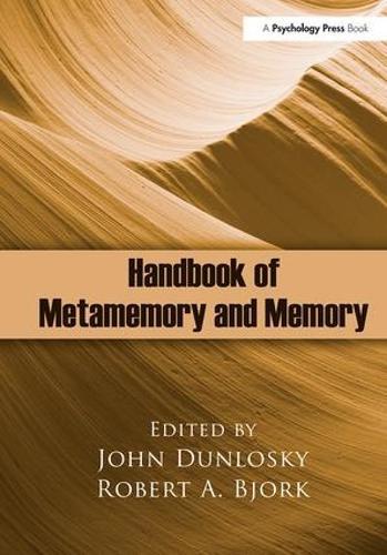 Handbook of Metamemory and Memory (Hardback)
