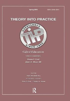Gifted Education: A Special Issue of Theory Into Practice (Paperback)