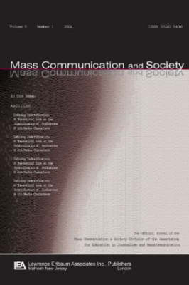 International Communication History: A Special Issue of mass Communication & Society (Paperback)