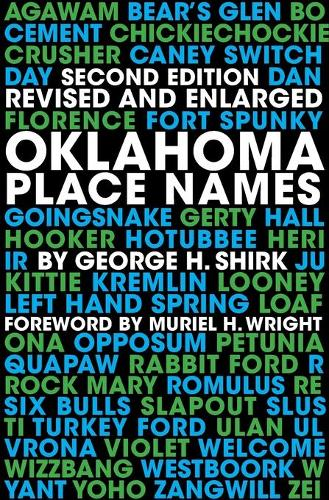 Oklahoma Place Names (Paperback)