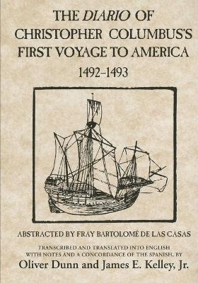 The Diario of Christopher Columbus's First Voyage to America, 1492-1493 (Paperback)