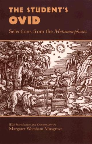 Student's Ovid: Selections from the Metamorphoses (Paperback)