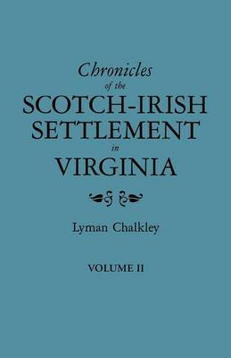Chronicles of the Scotch-Irish (Paperback)
