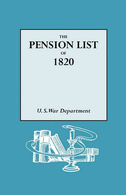 The Pension List of 1820 (Paperback)
