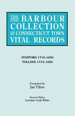 The Barbour Collection of Connecticut Town Vital Records [Vol. 44] (Paperback)