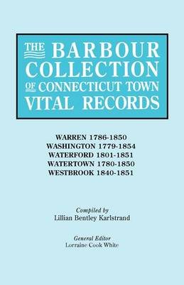 The Barbour Collection of Connecticut Town Vital Records [Vol. 49] (Paperback)