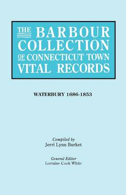 The Barbour Collection of Connecticut Town Vital Records [Vol. 50] (Paperback)