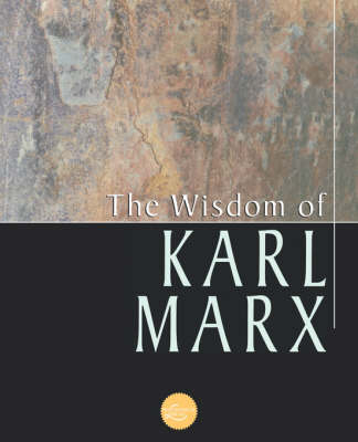The Wisdom of Karl Marx - Wisdom Library (Paperback)