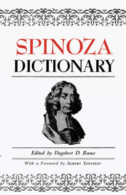 Spinoza Dictionary (Paperback)