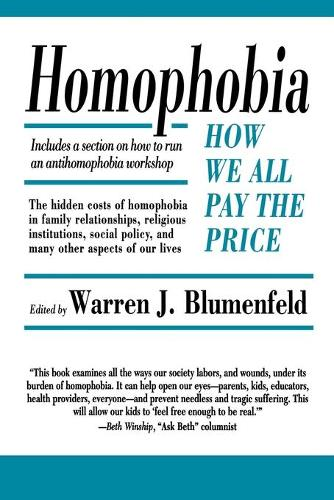 Homophobia: How We All Pay the Price (Paperback)
