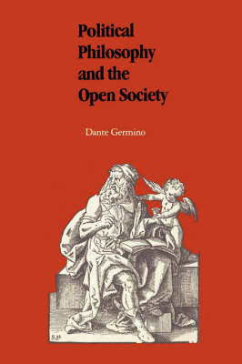Political Philosophy and the Open Society (Hardback)