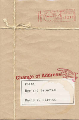 Change of Address: Poems, New and Selected (Hardback)