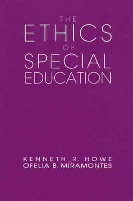The Ethics of Special Education - Professional Ethics in Education S. (Paperback)
