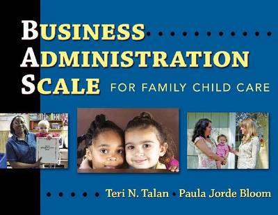 Business Administration Scale for Family Child Care (Paperback)