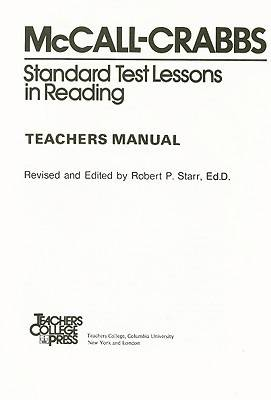 Standard Test Lessons in Reading (Paperback)